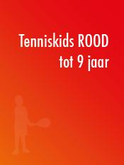 Tenniskids-rood